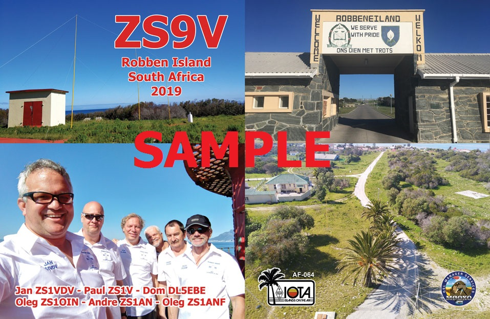 2019 QSL Card Front